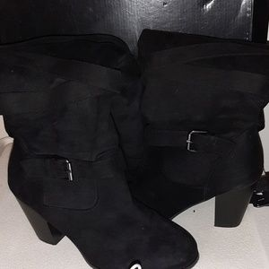 Torrid Extra Wide 9.5 knee high boots